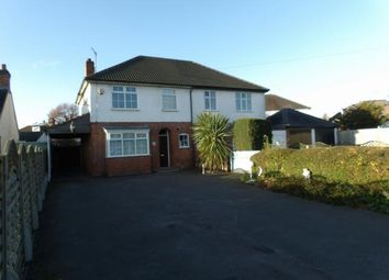 Thumbnail 3 bed semi-detached house for sale in Sibson Road, Birstall, Leicester, Leicestershire
