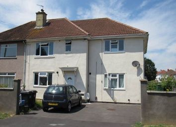 Thumbnail 2 bed flat to rent in Ullswater Road, Southmead, Bristol
