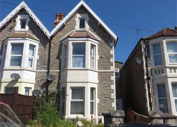 Thumbnail 2 bedroom flat for sale in Moorland Road, Weston-Super-Mare, North Somerset.