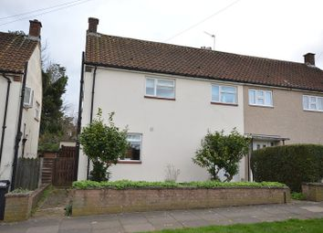 Thumbnail 3 bed semi-detached house for sale in Ripon Gardens, Chessington, Surrey.