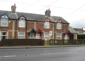 Thumbnail 3 bedroom terraced house to rent in Haverhill Road, Haverhill