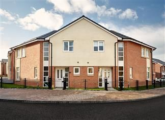 Thumbnail 3 bed semi-detached house for sale in The Eastleigh, Cleadon Vale, King George Road, South Shields