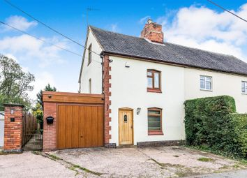 Thumbnail 3 bed cottage for sale in Hints Lane, Hints, Tamworth