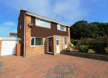 Thumbnail 3 bed semi-detached house for sale in Goad Close, Torpoint, Cornwall