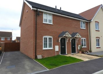 Thumbnail 2 bedroom end terrace house to rent in St Vincent Close, Crowland, Peterborough, Lincolnshire