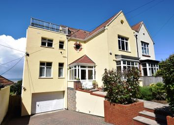 Thumbnail 4 bed semi-detached house for sale in Nore Road, Portishead, Bristol