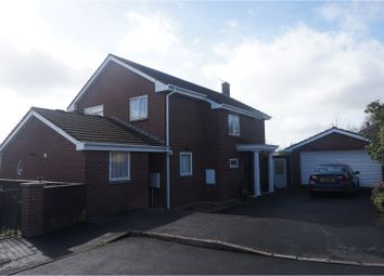 Thumbnail 4 bed detached house for sale in Lake View, Crediton