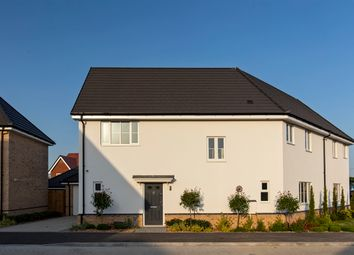 Thumbnail 4 bed semi-detached house for sale in Heckfords Road, Great Bentley, Colchester