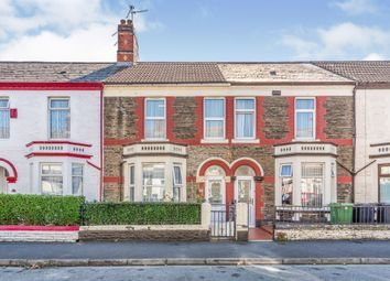 Thumbnail 3 bed terraced house for sale in Stockland Street, Cardiff