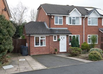 Thumbnail 4 bed semi-detached house for sale in York Close, Bournville, Birmingham