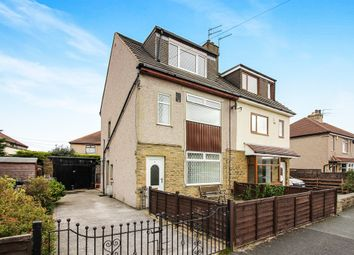 Thumbnail 3 bed semi-detached house for sale in Claremont Crescent, Wrose, Shipley