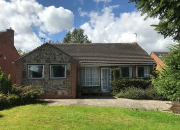 Thumbnail 2 bed detached bungalow for sale in Ashby Road, Ticknall, Derby