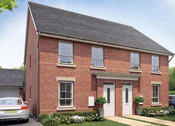 """Thumbnail 3 bed semi-detached house for sale in """"Finchley"""" at Rykneld Road, Littleover, Derby"""