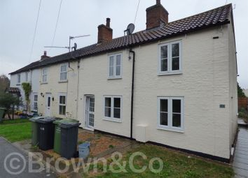 Thumbnail 2 bed terraced house for sale in Tapp Row Cottages, 6 Church Road, Tilney St. Lawrence, King's Lynn, Norfolk