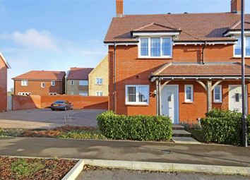 Thumbnail 2 bed semi-detached house for sale in De Morgan Crescent, Tadpole Garden Village, Wiltshire