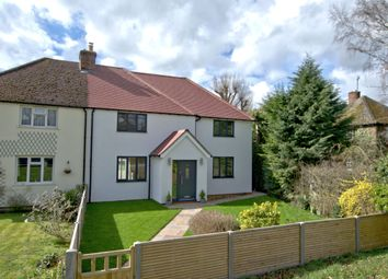 Thumbnail 4 bed semi-detached house for sale in Hauxton Road, Little Shelford, Cambridge