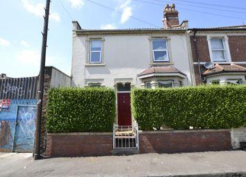 Thumbnail 4 bed end terrace house for sale in John Street, St. Werburghs, Bristol