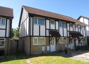 Thumbnail 2 bed end terrace house to rent in Lavender Court, Brackla, Bridgend
