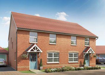 """Thumbnail 3 bed semi-detached house for sale in """"Ingleby"""" at Brogdale Road, Ospringe, Faversham"""