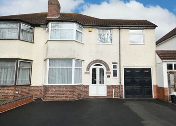 Thumbnail 5 bed semi-detached house for sale in Stanway Road, Shirley, Solihull