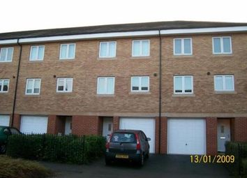 Thumbnail 3 bedroom town house to rent in Saltash Road, Swindon, Wiltshire