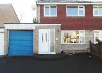 Thumbnail 3 bed semi-detached house to rent in Wembley Gardens, Bramcote, Nottingham