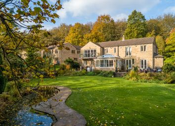 Thumbnail 5 bed detached house for sale in Lowfield House, Station Road, Meltham