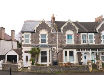 Thumbnail 4 bed end terrace house for sale in Exeter Road, Weston-Super-Mare