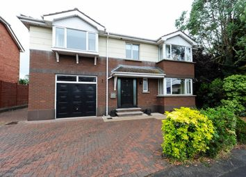 Thumbnail 4 bed detached house for sale in Lambert Avenue, Dundonald, Belfast