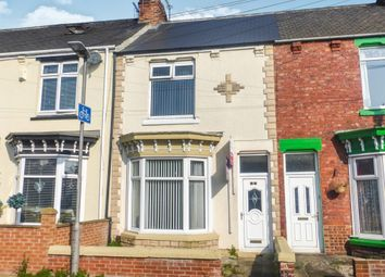 Thumbnail 3 bedroom terraced house for sale in Percy Street, Hartlepool