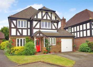 Thumbnail 4 bed detached house for sale in Bisley, Woking