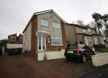 Thumbnail 3 bedroom detached house for sale in Murroch Crescent, Alexandria, Dunbartonshire