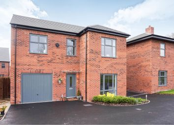 Thumbnail 4 bed detached house for sale in Medham Avenue, Swadlincote