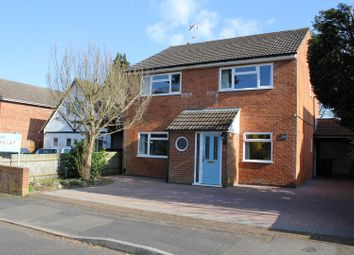 Thumbnail 4 bed detached house to rent in Westover Road, Fleet