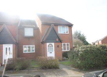 Thumbnail 2 bed flat to rent in Creasey Close, St Leonards, Hornchurch