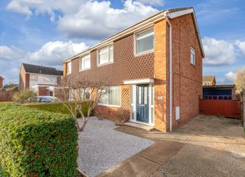 Thumbnail 3 bed semi-detached house for sale in Kestrel Close, St. Ives, Huntingdon
