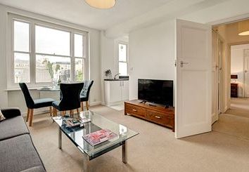 Thumbnail 1 bed flat to rent in Hill Street, London