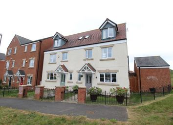 Thumbnail 4 bed semi-detached house for sale in Barnwell View, Herrington Burn, Houghton Le Spring