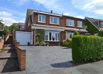 Thumbnail 3 bed semi-detached house for sale in Pitcher Lane, Leek