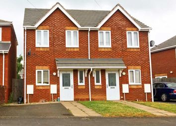 Thumbnail 3 bed semi-detached house for sale in Leckie Road, Walsall, West Midlands