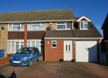 Thumbnail 4 bed semi-detached house for sale in Crossways, Sittingbourne