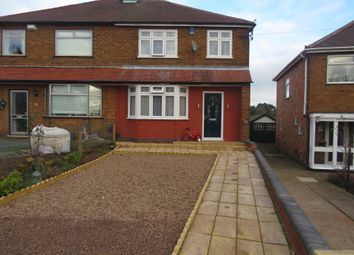 Thumbnail 3 bed semi-detached house for sale in Northolme Avenue, Bulwell, Nottingham