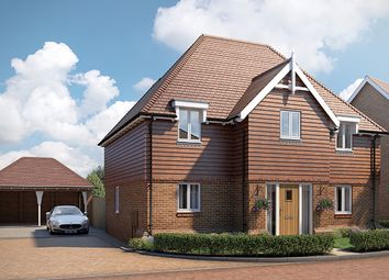 "Thumbnail 4 bed property for sale in ""The Woodvale"" at Lenham Road, Headcorn, Ashford"