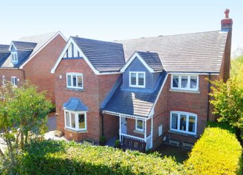 Thumbnail 4 bed detached house for sale in Pemberton Close, Ightfield, Whitchurch