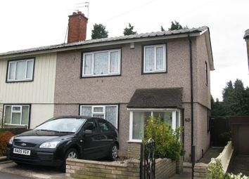 Thumbnail 3 bed semi-detached house to rent in Bellevue Road, Sheldon, Birmingham