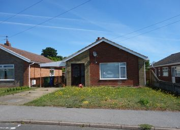 Thumbnail 3 bed detached bungalow for sale in Beaumont Road, Carlton Colville, Lowestoft, Suffolk