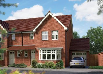 "Thumbnail 3 bed semi-detached house for sale in ""The Epsom"" at Matthewsgreen Road, Wokingham"