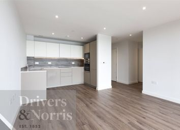Thumbnail 2 bed flat for sale in Skylark Point, Newnton Close, London