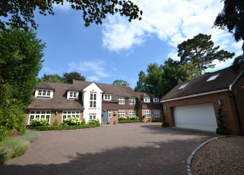 Thumbnail 5 bedroom detached house for sale in Cobbetts Hill, St. Georges Hill, Weybridge