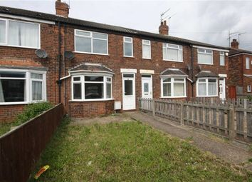 Thumbnail 2 bedroom terraced house to rent in Glebe Road, Hull